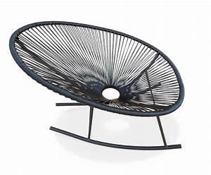 Fauteuil Fil Plastique : 11 chaises bascule pingl es pour vous d co id es ~ Edinachiropracticcenter.com Idées de Décoration
