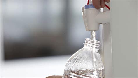 drinking water scheme  cut plastic bottle