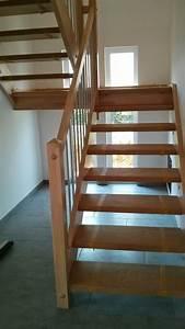Garagentorantrieb Einbauen Lassen : unsere holztreppe ist eingebaut projekt fertighaus ~ Michelbontemps.com Haus und Dekorationen