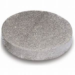 """""""Round"""" Concrete Stepping Stone 12"""" - Natural RONA"""