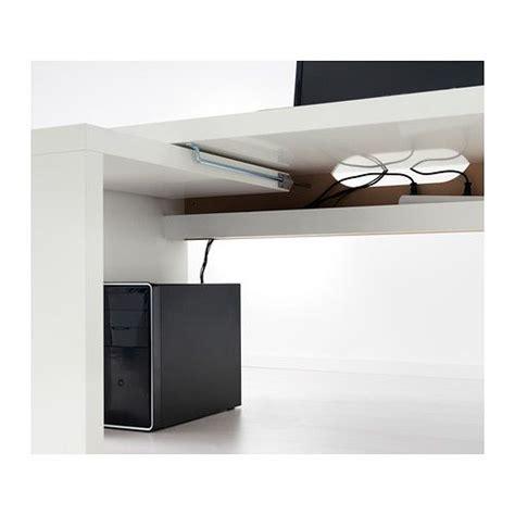 ikea malm bureau malm desk with pull out panel white malm work