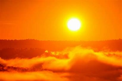 Shutterstock Sun Sonne Orange Mittwoch Hitzewelle Bzw