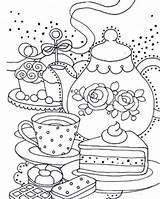 Coloring Teapot Adult Colouring Para Yee Tea Sheets Printable Liz Dibujos Coffee Leading Bordar Colorear Mandala London Whimsical York Publishing sketch template