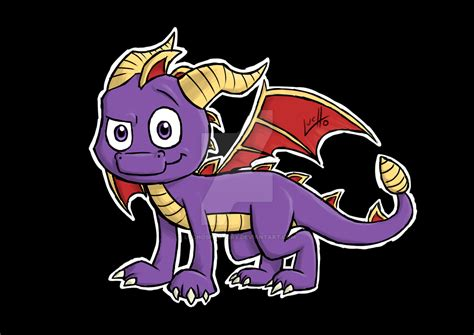 spyro the dragon by luchosfactory on deviantart