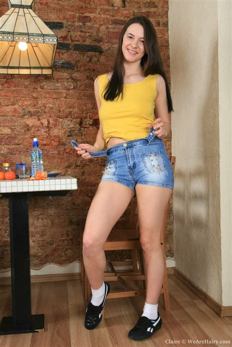 Curvy Minx Claire Slowly Slides Out Of Her Tight Denim