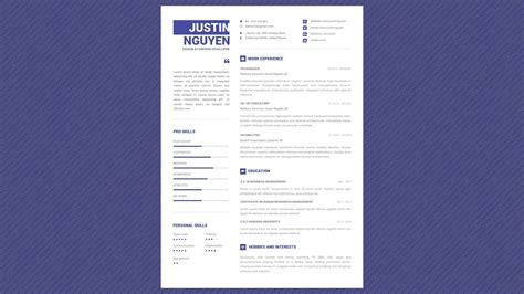 Pro Resume Template by 99 Cents Professional Resume Template Minimalist Pro