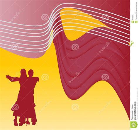 Ballroom Dancing Background Stock Vector - Illustration ...