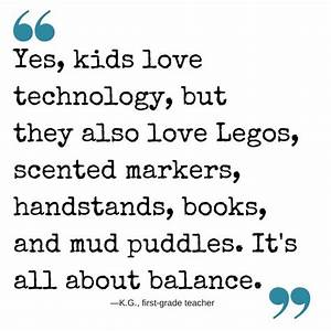 How do you stri... Balanced Education Quotes