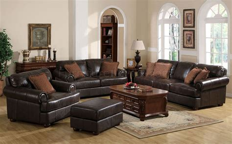 leather sofa set for living room chocolate brown leather sofa and loveseat sofa