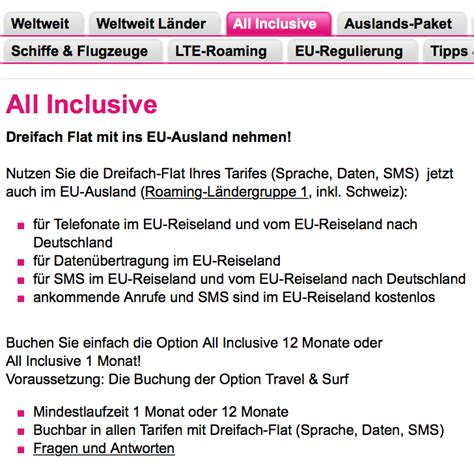 roaming gebühren t mobile deutschland