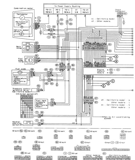 2003 Subaru Outback Stereo Wiring Diagram by Gallery Of 2001 Subaru Outback Wiring Diagram