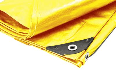 heavy duty premium yellow poly tarp