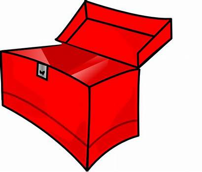 Empty Toolbox Clip Clipart Clker Domain Toolkit