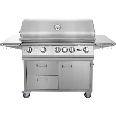 stainless steel gas grills 40 inch gas grill l90000 stainless steel