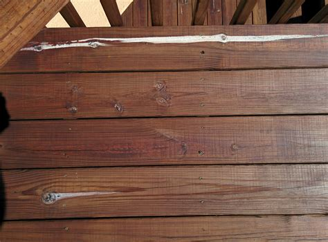white residue  stained pine deck deck stain questions