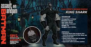 Character Design Creator Nanaue Arkhamverse Dc Database Fandom Powered By Wikia