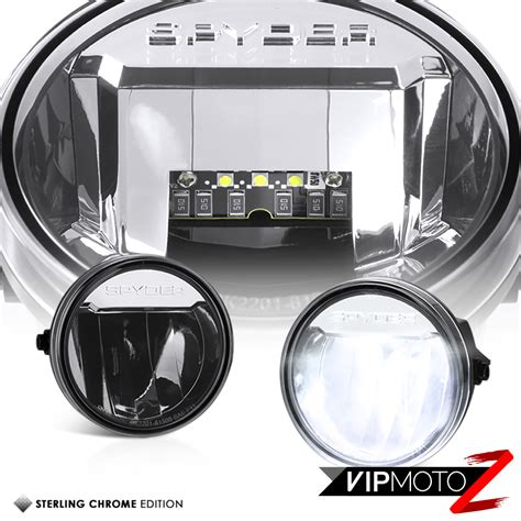 2013 f150 led fog lights built in led 2011 2013 ford f150 chrome front bumper