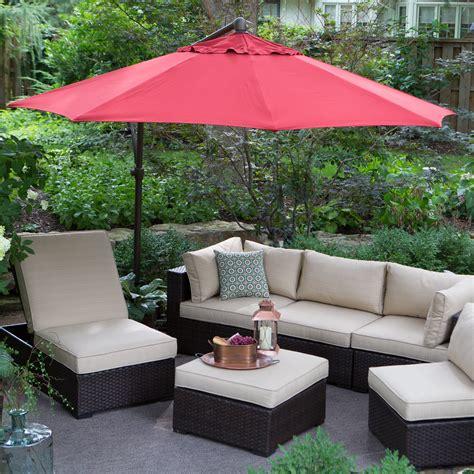 Umbrella Backyard by Treasure Garden 10 Ft Cantilever Octagon Offset Patio