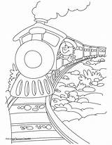 Coloring Pages Coal Train Cool Printable Getcolorings Clip sketch template