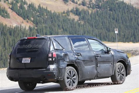 2019 Subaru Tribeca  Return Of Subaru's Sevenseat Suv