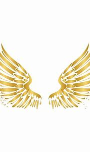 #freetoedit#wings #angel #gold #glitter #remixed from ...