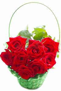 Beautiful Bouquet Of Red Roses. Royalty Free Stock Photos ...