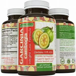 Pure 95 Hca Garcinia Cambogia Extract Potent Natural Appetite Suppressant