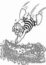 Coloring Money Printable Scrooge Disney Duck Cartoon Swims Sheets Mcduck Ducktales Uncle Adult Dagobert Donald Pop 4kids Getcolorings Popular Amazing sketch template
