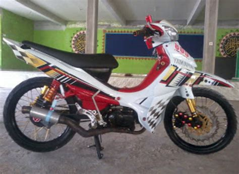 Jupiter Z Roadrace by Gambar Modifikasi Jupiter Z Road Race Paling Sporty Dan Keren