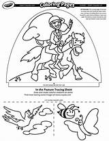 Crayola Coloring Pages Dome Pasture Light Designer Printable Glow sketch template