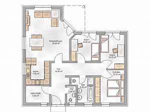 Haus 100 Qm : grundriss bungalow 100 qm ~ Yasmunasinghe.com Haus und Dekorationen
