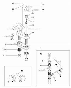 Delta Faucet 2592lf Parts List And Diagram