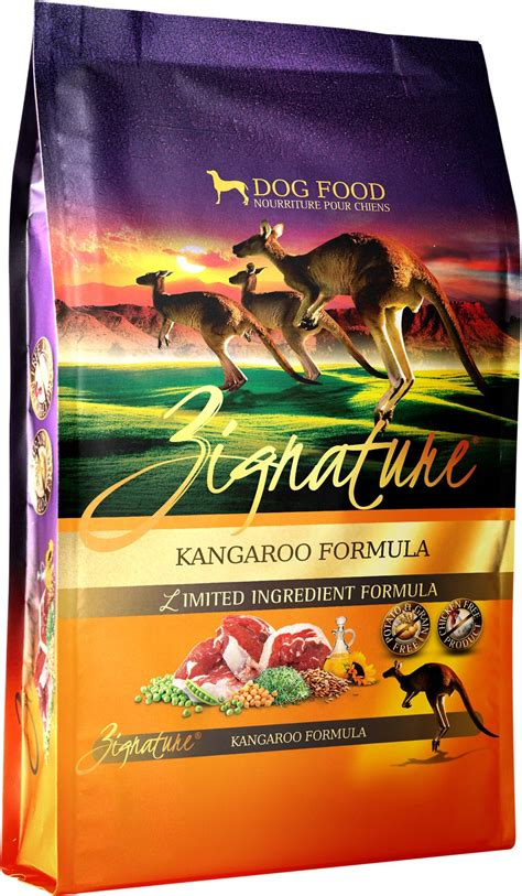 zignature kangaroo limited ingredient formula grain