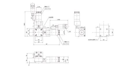 Xyステージ 小型(自動ステージ)