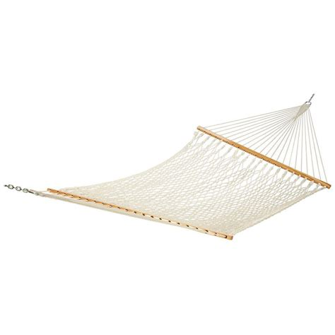 Rope Hammock by 13 Ft Cotton Rope Hammock Pc 13rpcnp The Home Depot