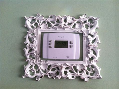 Learn how to install a thermostat in a few simple steps using basic household tools. Decorative frame around thermostat | Frame decor, Decor ...