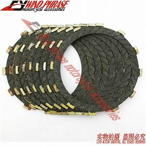 Motorcycle Friction Clutch Cork Set For Kawasaki Vn900