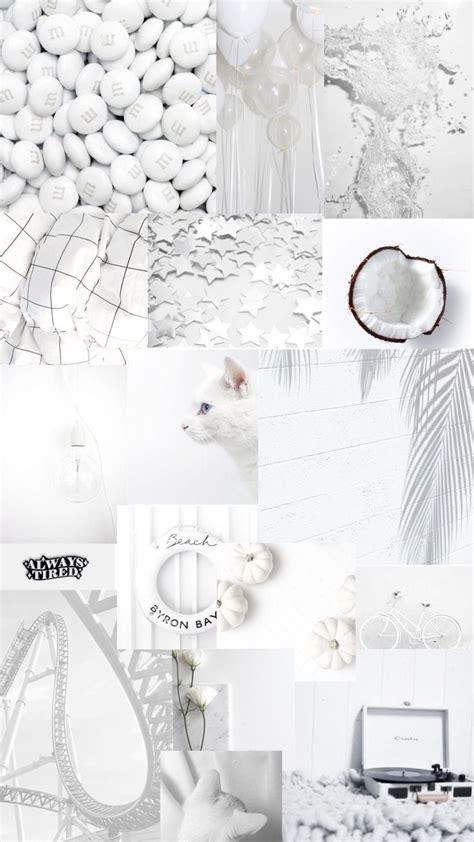 white aesthetic background