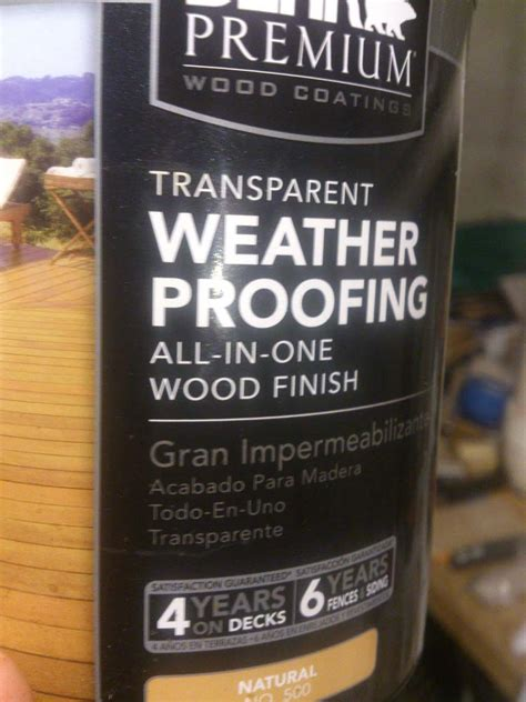 behr wood stain smells  blank  test finishes