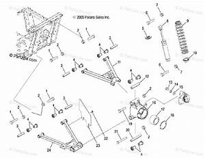 Polaris Side By Side 2007 Oem Parts Diagram For Suspension