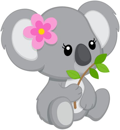 Clipart Koala by Baby Animal Clipart Koala Pencil And In Color Baby