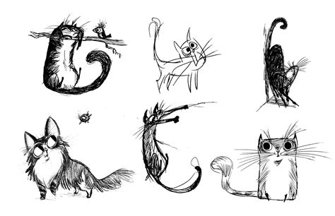 cat drawings   clip art  clip art  clipart library