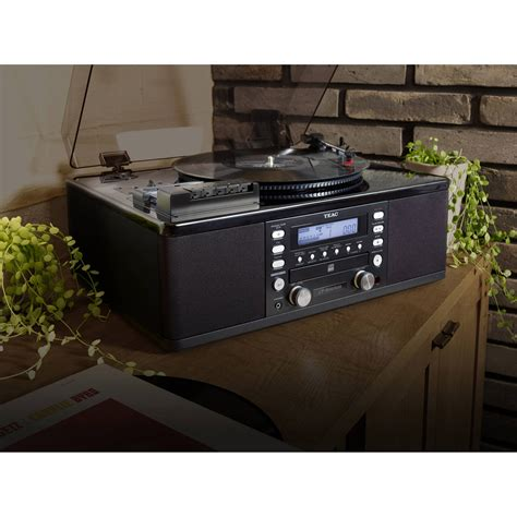 cd cassette recorder teac lp r660usb pb turntable with usb cd recorder