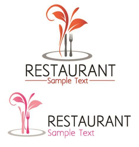 restaurant logos with menu illustration vector 02 over millions vectors stock photos hd