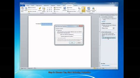 create fillable forms  microsoft word  youtube