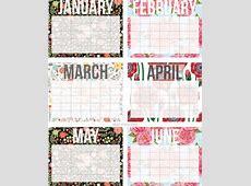 10 calendarios del 2017 para imprimir gratis y organizar