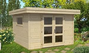 Abri De Jardin Monopente : abri de jardin bois sumatra 6 9m madriers 28mm ~ Dailycaller-alerts.com Idées de Décoration