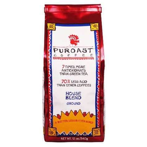 Great taste isn't sacrificed because of the low acid. Puroast Low Acid Coffee House Blend Drip Grind, 12oz (Pack of 2) - Walmart.com - Walmart.com