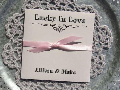 wedding favor ideas wedding lottery ticket holders by