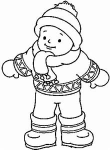 Winter Clothes Clipart Black And White - ClipartXtras